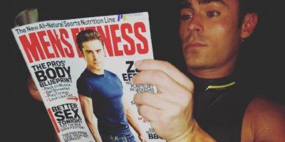 Zac Efron es la portada de la revista Mens Fitness Foto:Instagram. Imagen Por: