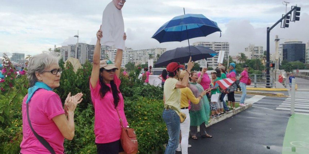 Firme el compromiso de Mujeres en el Puente con  la liberación de Oscar López