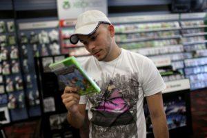 Sucedió en una tienda de videojuegos de Estados Unidos Foto:Getty Images. Imagen Por: