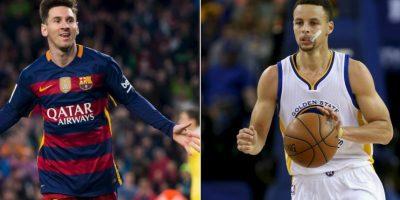 A Stephen Curry le gusta ser el Lionel Messi de la NBA Foto:Getty Images. Imagen Por: