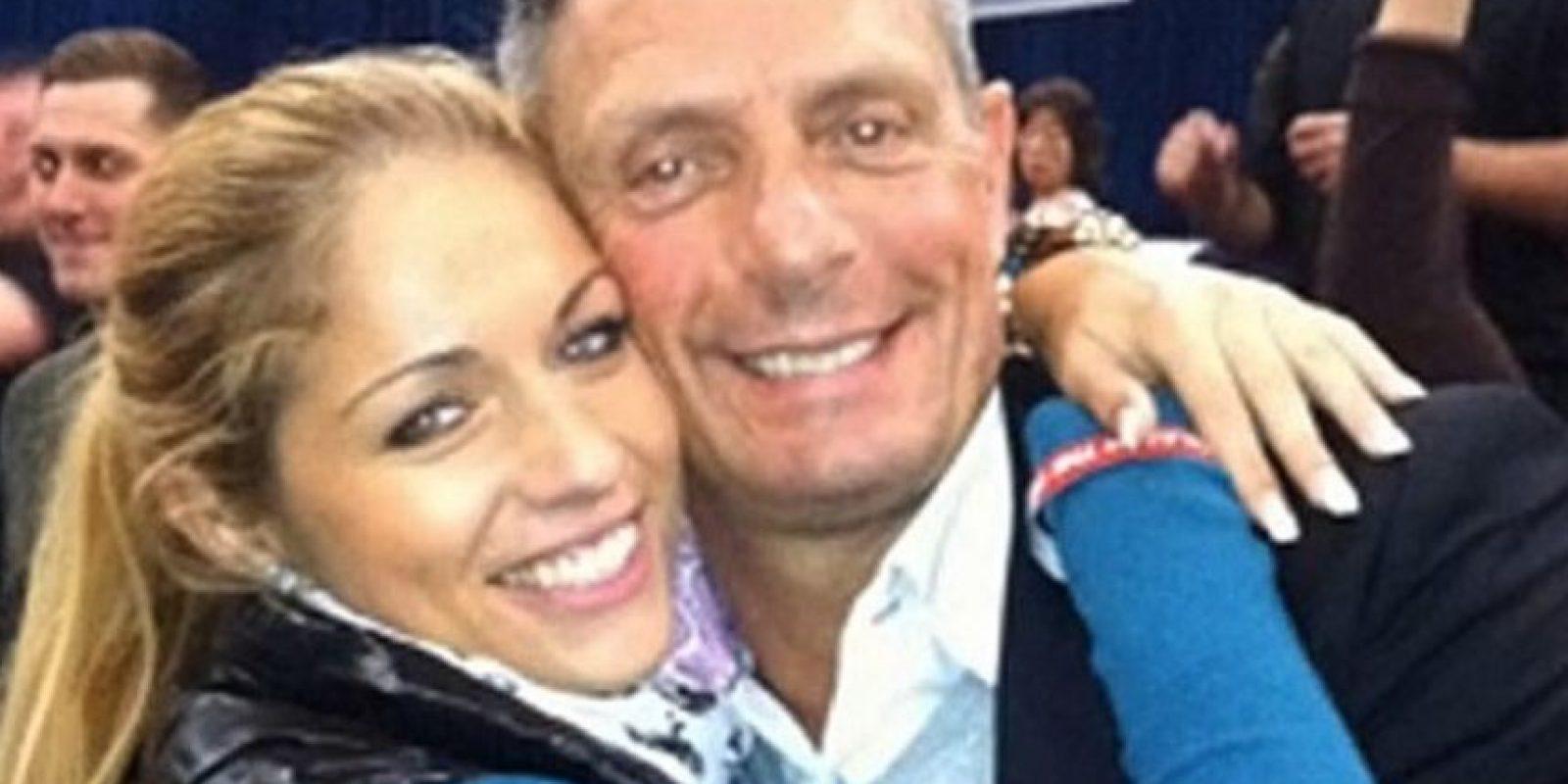 Ambos parecían muy felices Foto:Vía Twitter. Imagen Por: