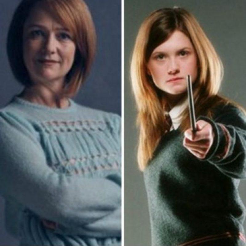 """Poppy Miller que se convertirá en """"Ginny Potter"""" Foto:Vía twitter.com/jk_rowling?. Imagen Por:"""