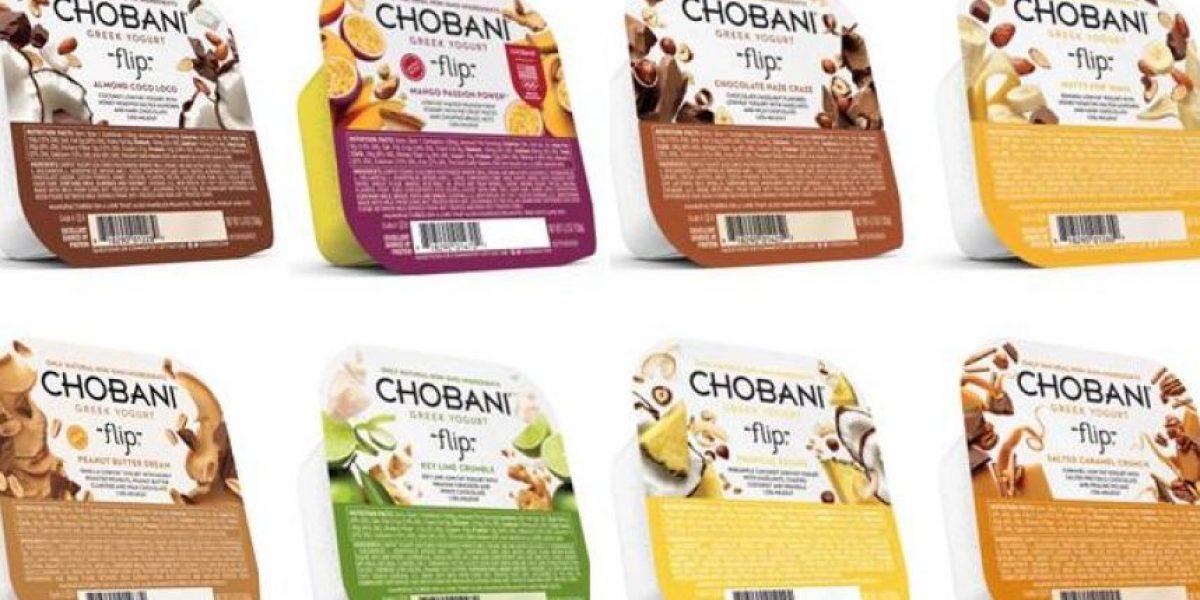 Chobani® Flip, el yogur griego que hace la merienda perfecta