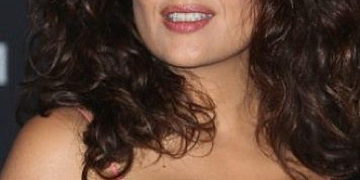 Salma Hayek falló en el intento de serle infiel a su marido
