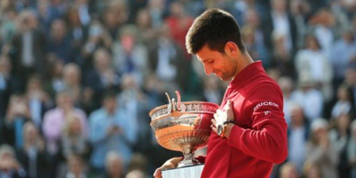 Novak Djokovic gana su primer título del Abierto de Francia