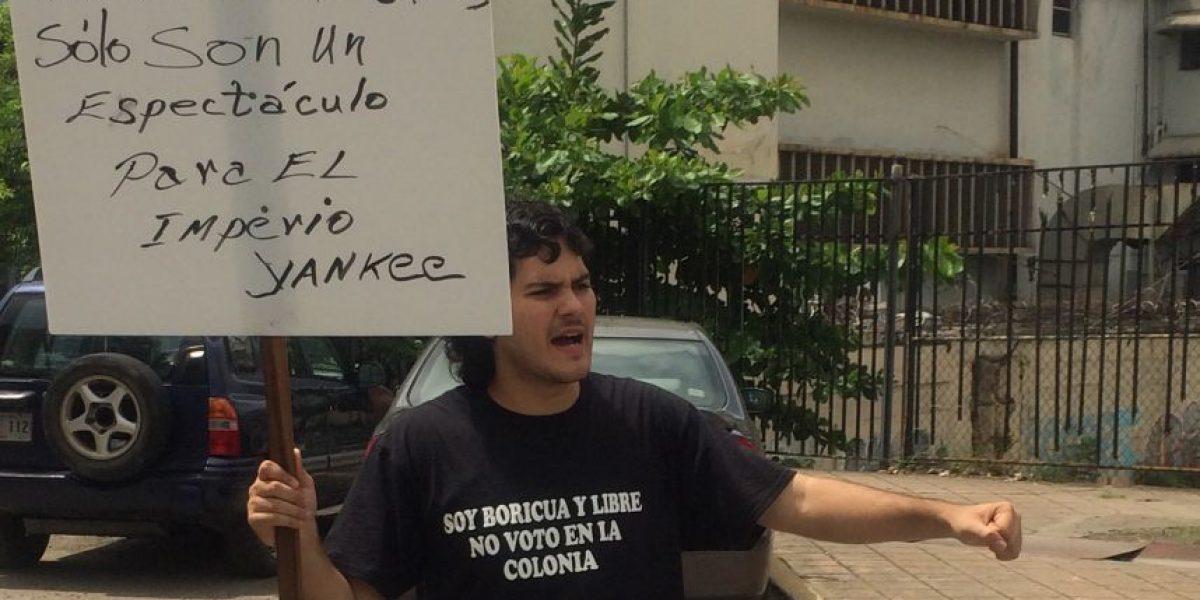 """Frente del Pueblo Puertorriqueño denuncia la """"farsa del proceso electoral"""""""