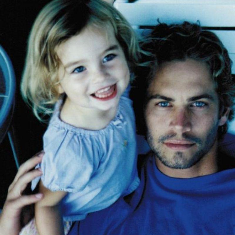 En homenaje a su padre Foto:Vía instagram.com/meadowwalker/?hl=es. Imagen Por: