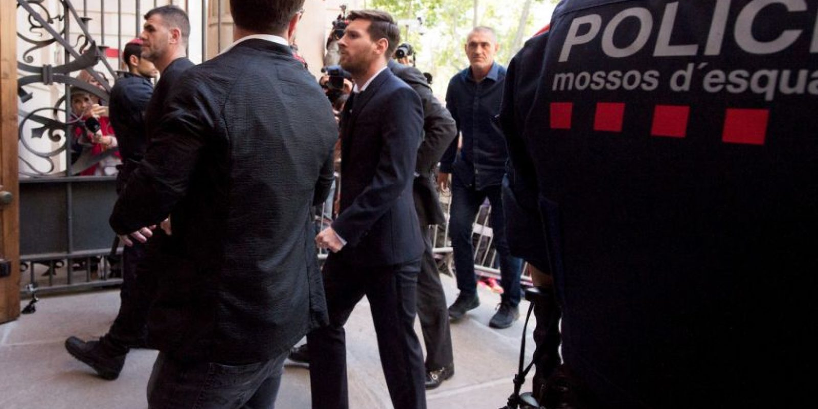 Así vivió Lionel Messi su juicio Foto:Getty Images. Imagen Por: