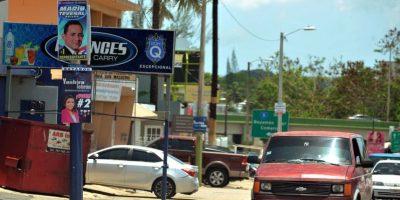 Bayamón está lleno de letreros políticos.. Imagen Por: