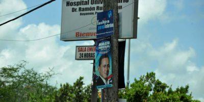 Bayamón inició la remoción de propaganda.. Imagen Por: