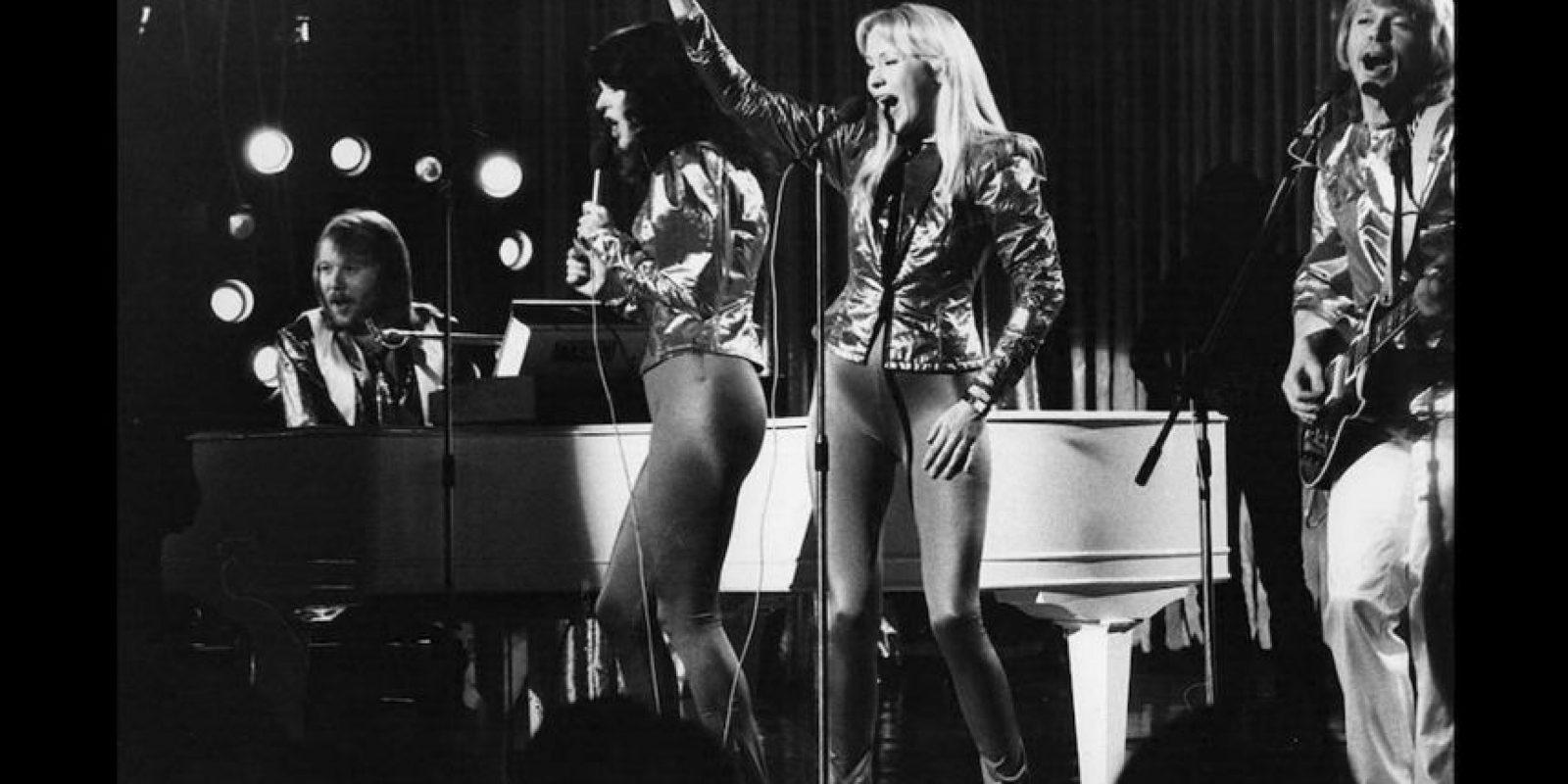 """ABBA saltó a la fama en el año 1974 cuando ganó el Festival de Eurovision con la canción """"Waterloo"""". Foto:Getty Images. Imagen Por:"""
