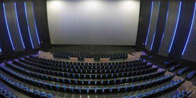 La sala de la pantalla IMAX tiene dimensiones de 80 pies de alto y 46 de ancho. Foto:Suministrada. Imagen Por: