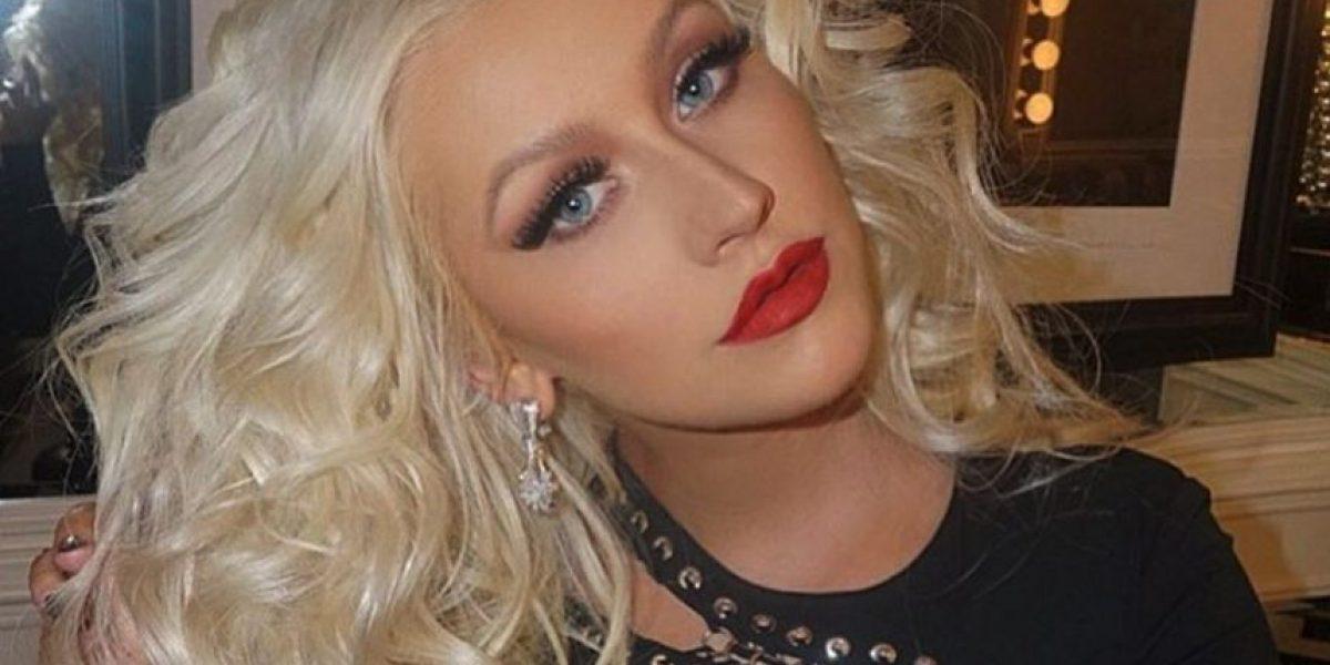 Radical cambio de look de Christina Aguilera