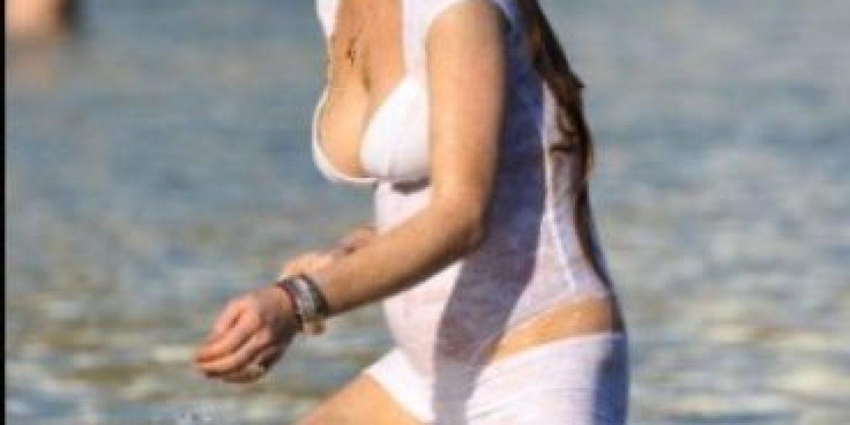 Lindsay Lohan recupera sus curvas