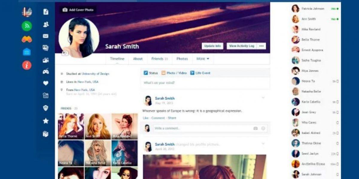 Facebook: Cambien el estilo y colores de su perfil
