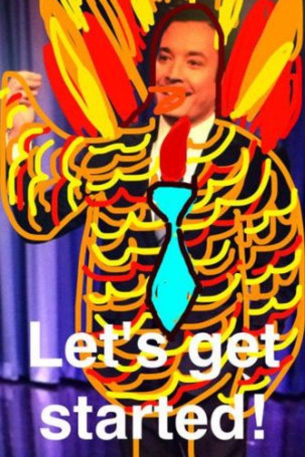 Jimmy Fallon Foto:Snapchat. Imagen Por: