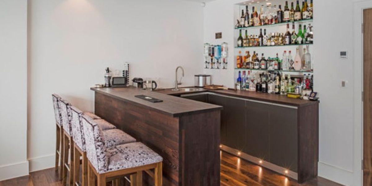 Un bar en el hogar