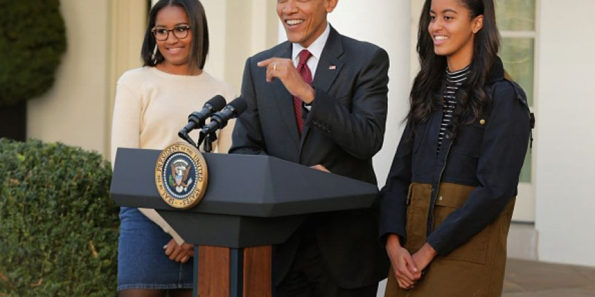 #whereisSasha: revelan por qué la hija de Obama no estuvo en el mensaje