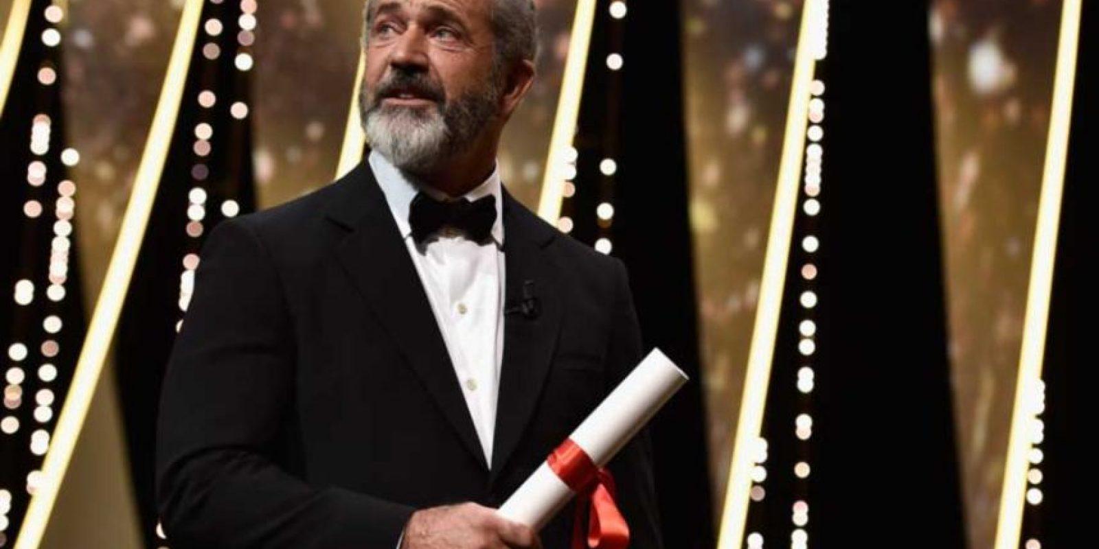 """El actor Mel Gibson fue el encargado de dirigir """"La Pasión de Cristo"""" en 2004. Foto:Getty Images. Imagen Por:"""