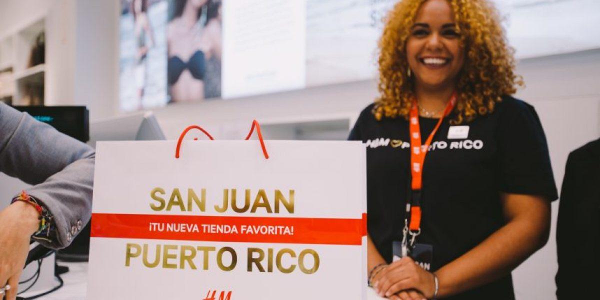 H&M abre sus puertas en Puerto Rico