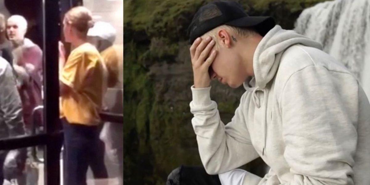 Así quedó el rostro de Justin Bieber tras su pelea en Cleveland
