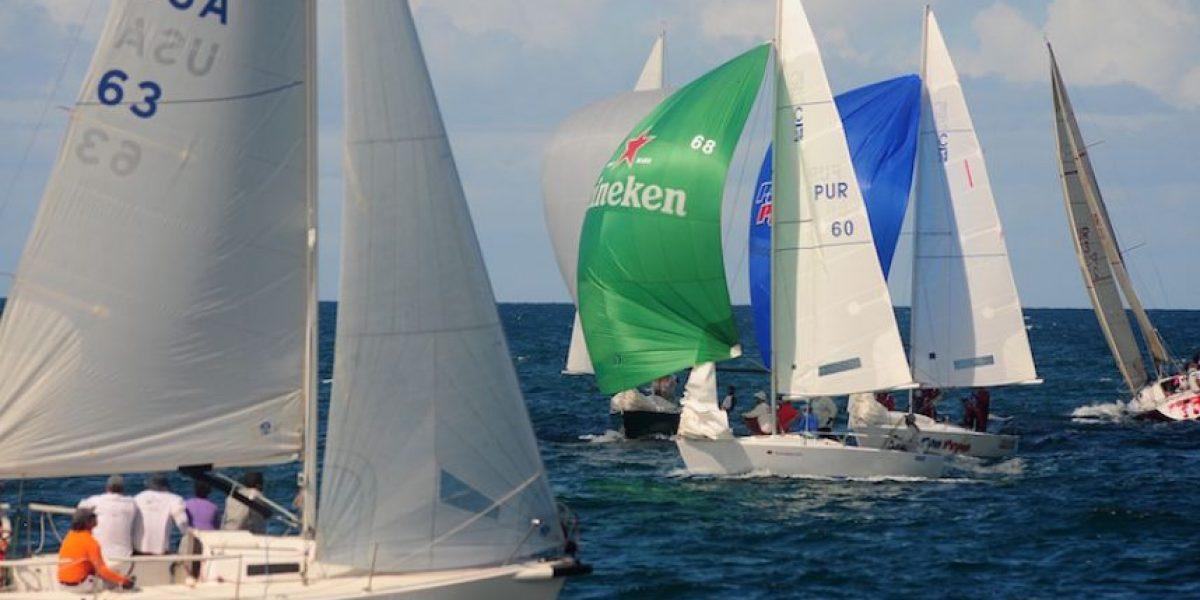 Ventajosas condiciones al comenzar la undécima regata de Heineken