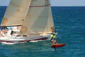 Las condiciones climáticas favorecieron en la víspera el inicio de la competición, que prosigue hoy en la Marina Puerto del Rey, en Fajardo. Foto:INS. Imagen Por: