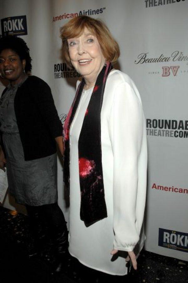 Anne Meara es la madre de Ben Stiller y está casada con Jerry Stiller Foto:Getty Images. Imagen Por: