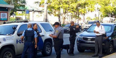 Homeland Security y la policía estatal. Foto: Juventud Trabajadora – PPT Foto:Juventud Trabajadora – PPT. Imagen Por: