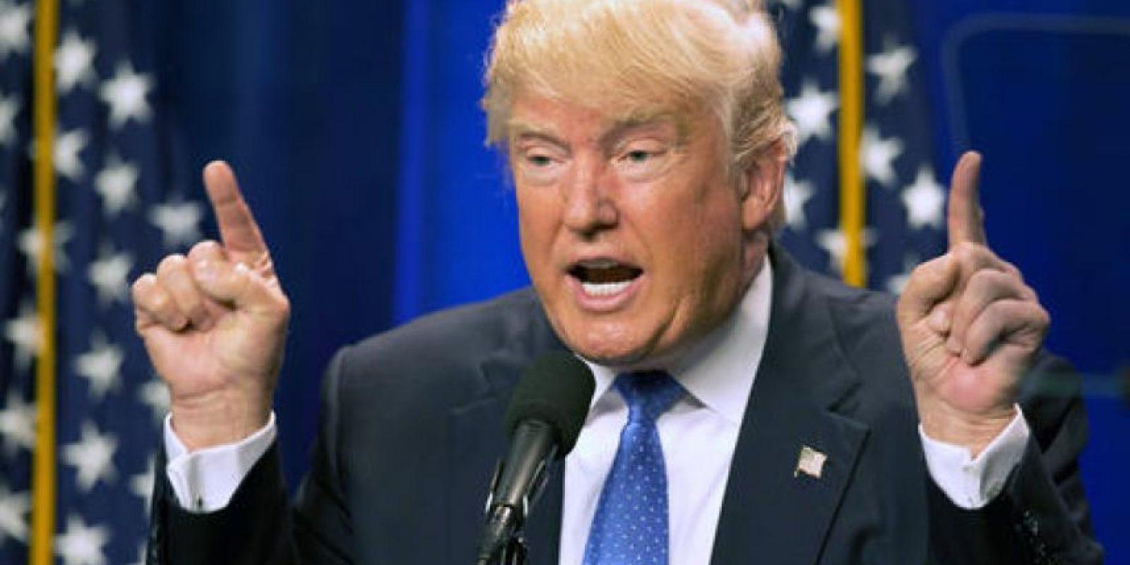 Sin embargo, el magnate Donald Trump aprovecho lo sucedido para dar poder a su discurso. Foto:AP. Imagen Por: