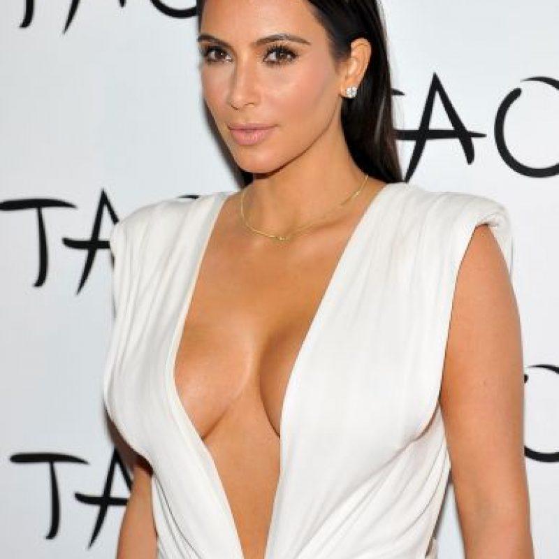 El estilo de Kim Kardashian y Amber Rose son muy similares. Foto:Getty Images. Imagen Por: