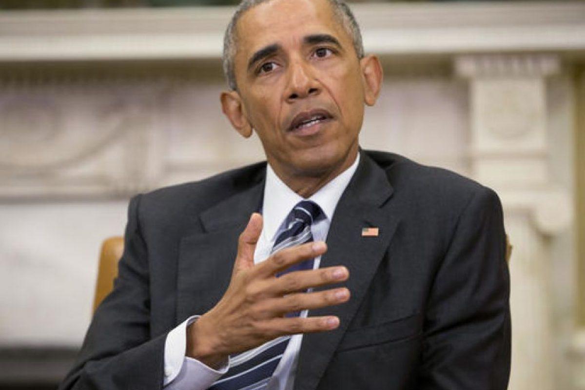 Barck Obama lamentó lo sucedido en el bar de Orlando, Florida. Foto:AP. Imagen Por: