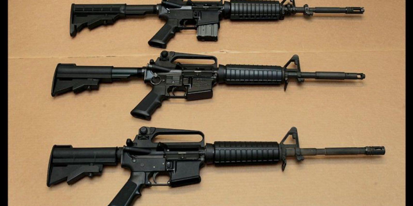 El rifle AR-15 es el arma que Mateen utilizó para acabar con la vida de 50 personas y herir a 53. Foto:AP. Imagen Por: