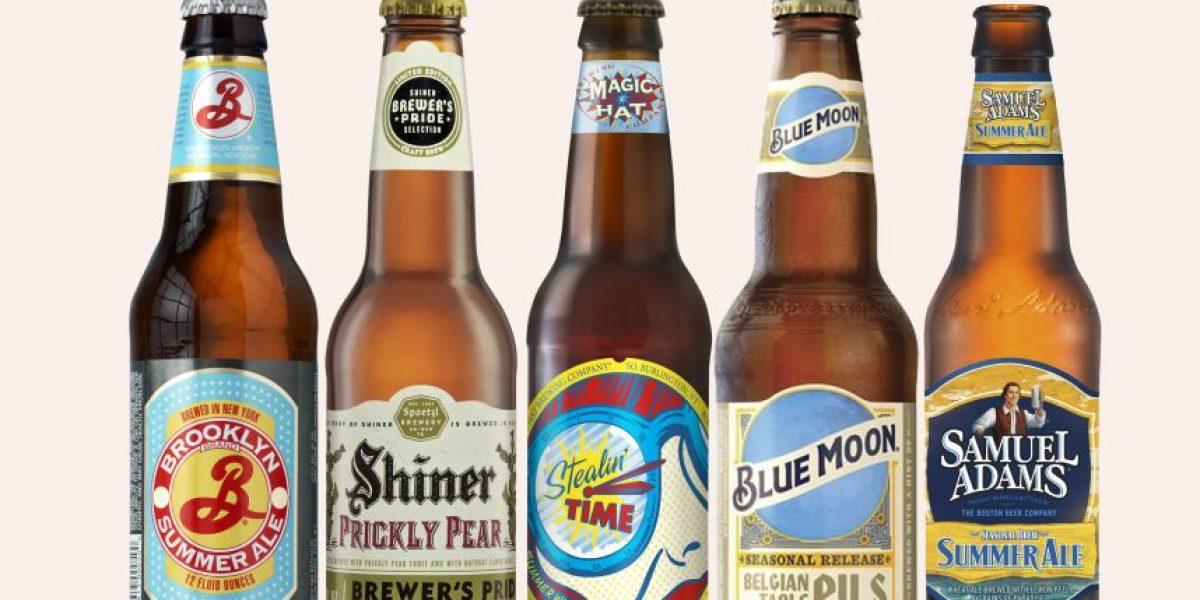 Cervezas artesanales de verano