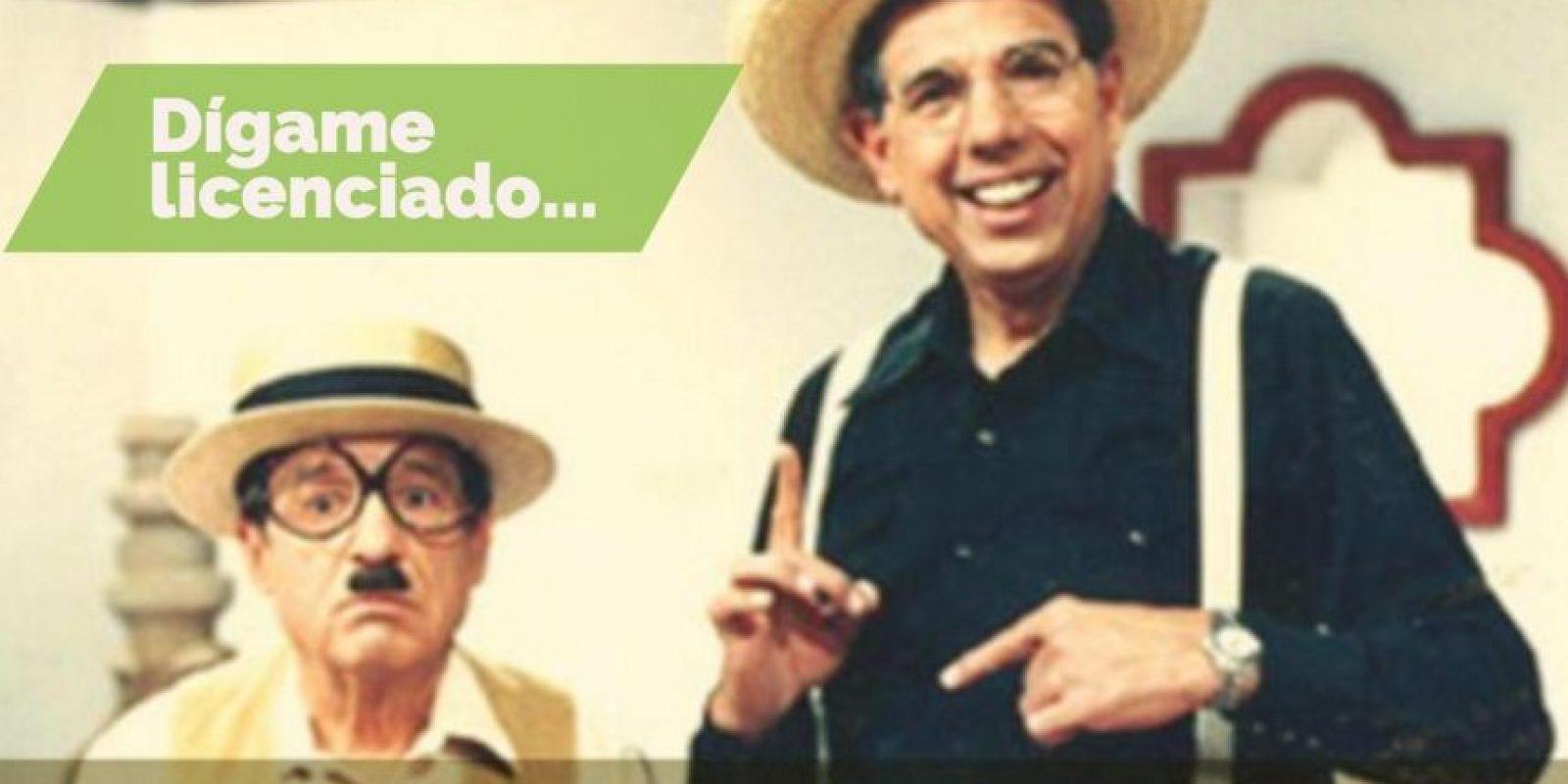 "Frases para recordar a Rubén Aguirre ""El Profesor Jirafales"" Foto:Twitter.com/JirafalesRuben – Adobe Spark. Imagen Por:"