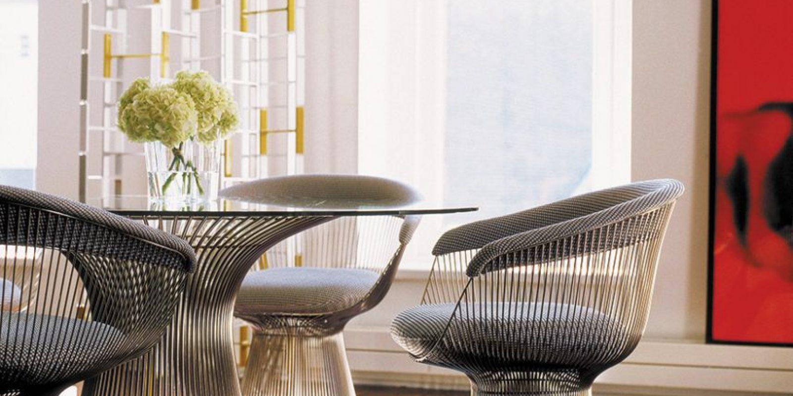 Foto:Platner Dining Table – Photo via Knoll. Imagen Por:
