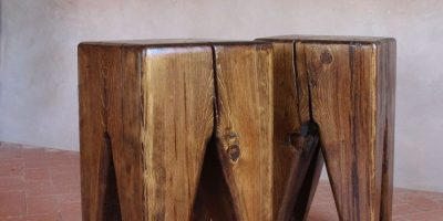 Foto: Vista Stool Table – Photo via Pfeifer Studio. Imagen Por: