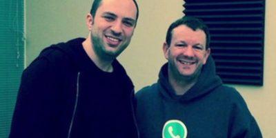Jan Kum y Brian Acton, los creadores de la app. Foto:Tumblr. Imagen Por: