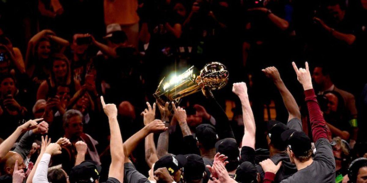 Cavaliers se coronan campeones de la NBA