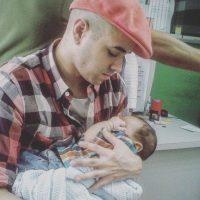 El cantante venezolano Nacho con su bebé Foto:Instagram @nacholacriatura. Imagen Por: