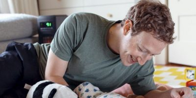 Mark Zuckerberg con su pequeña Max. Foto:Facebook Mark Zuckerberg. Imagen Por: