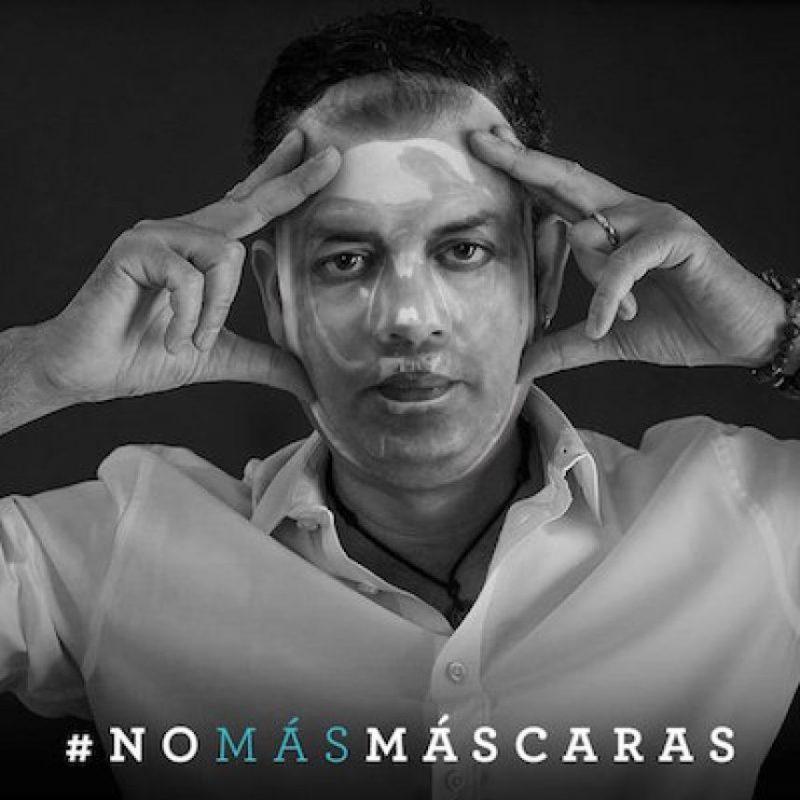 #NoMásMáscaras, la campaña colombiana contra los ataques con ácido Foto:Twitter.com/mascarasno. Imagen Por: