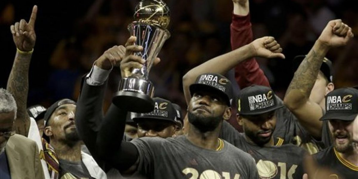 LeBron gana por tercera vez MVP en una final NBA