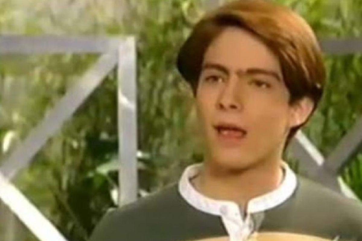 """Hijo de """"María"""", la protagonista y por horrible que suene, amante de """"Soraya"""", su enemiga. Foto:vía El Canal de las Estrellas. Imagen Por:"""