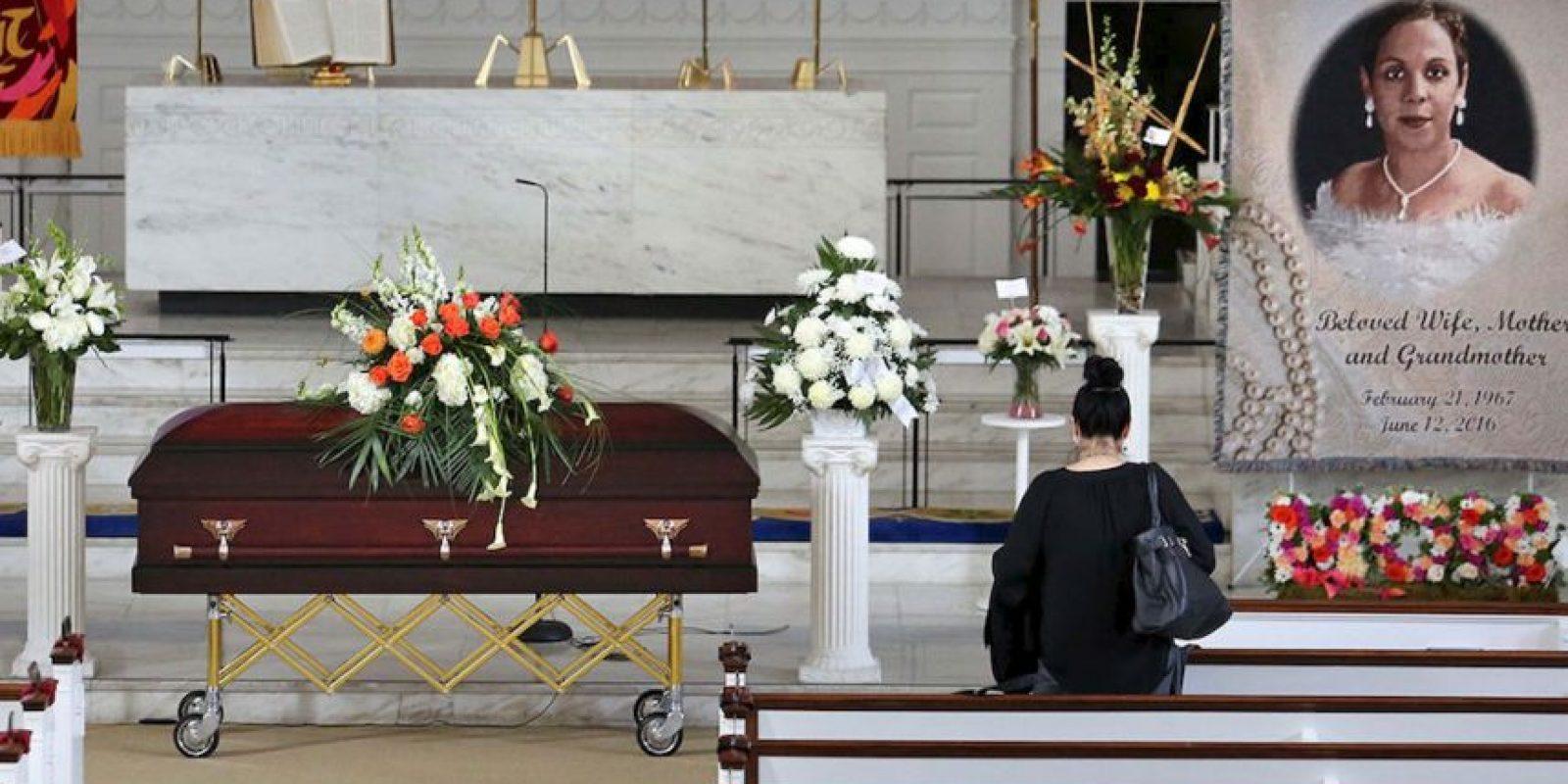 Brenda, de 49 años de edad, fue una mujer fuerte. Madres soltera de 11 hijos, 7 hombres y 4 mujeres. Foto:AP. Imagen Por: