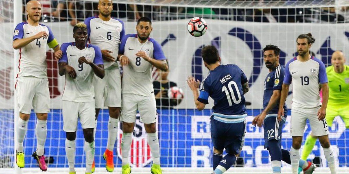 Messi se convierte en máximo goleador albiceleste