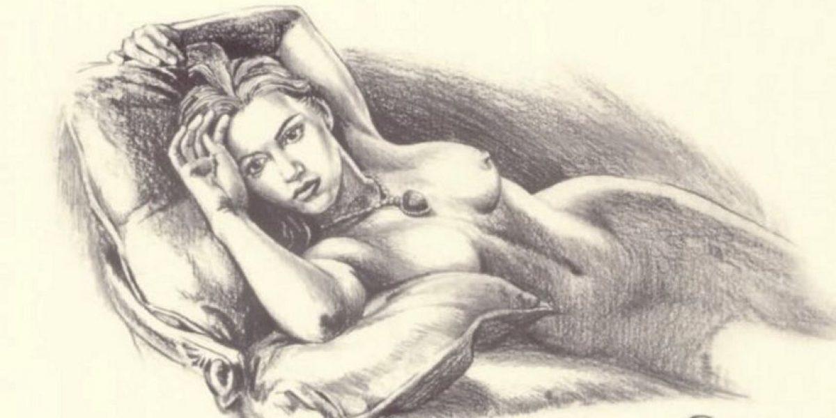 ¿Quién hizo el dibujo de Kate Winslet en