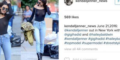 Foto:Vía Instagram/@Kendalljenner. Imagen Por: