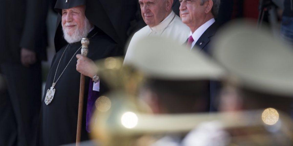 El papa denuncia un