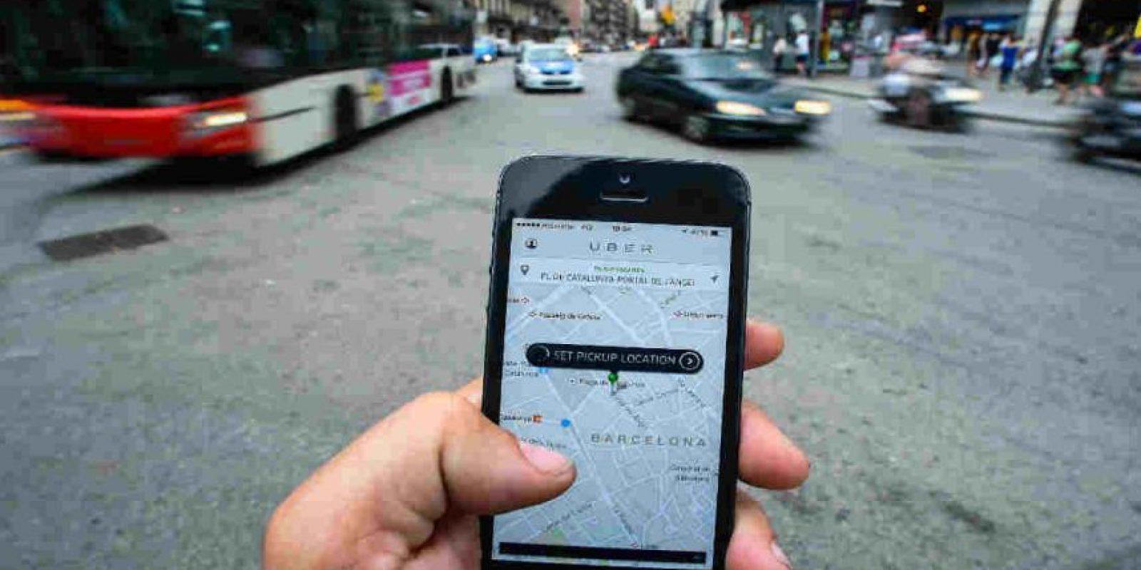 La tarifa que indica la app en otras modalidades es sólo un estimado. Foto:Getty Images. Imagen Por: